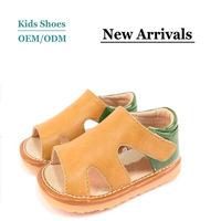 2014 newest design cool nude summer beach children sandals for boys