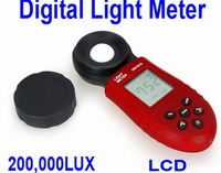 New 200,000 Lux Digital Light Meter LCD Luxmeter Lux/FC Luminometer Photometer Measure Tester