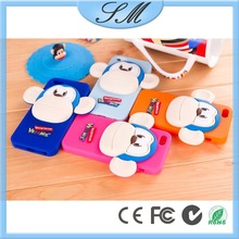 3d Animal Soft Silicon Cell-phone Case Cover For Iphone 5/5s