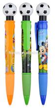 Top Sellong Big Fat Cheap Custom Logo Promotioal Football Pen