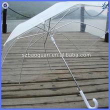 plastic umbrella transparent/cheap promotional umbrellas