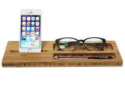 natural bamboo mobile phone Stand