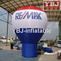 Large customized cheap inflatable advertising balloons,machine to inflate balloons