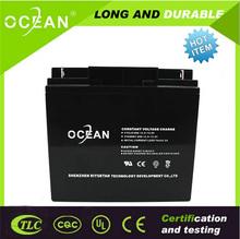 High safe valve regulated agm lead acid 12v dry cell battery ups