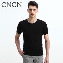 CNCN brand men's cotton high quality 2014 Korean stylish T-shirt