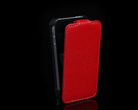 New Luxury PU Leather Pouch Case Cover For iPhone 4 / 4S
