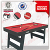 Football Table , MDF PVC Plain Carton Package,Economic 7FT MDF soccer table