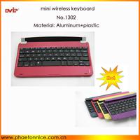1302 Azerty German Spanish layout bluetooth Keyboard for iPad Mini
