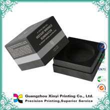 Luxury Mini Silver Foil Paper Box For Earrings