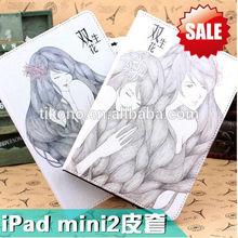 Standing for mini ipad 2 case,new case for ipad mini 2
