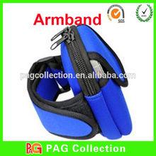 Neoprene armband case for smart mobile phone arm band
