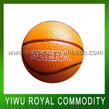 Custom Foam Basketball Shaped Anti PU Stress Ball