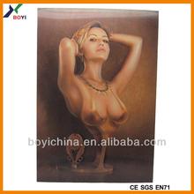 3D Lenticular Business Card/Lenticular 3D Naked Girl Pictures