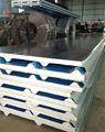 El calor- aislado de zinc onduladas para techos de chapa de acero