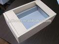 Caixa de slides, twin parede placa lateral da gaveta, extensão total