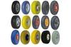 wheelbarrow pu foam wheel / pu foamed wheel tyre / pu foam cart wheel