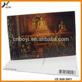 deus indiano 3d impressão lenticular cartão postal de arte