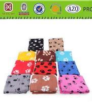 cartoon design cat and dog polar fleece blanket for children