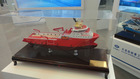 New product scale model ship of China working ship