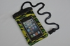 Fashional plastic wateproof bag for samsung galaxy note with clip