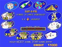 Mega Jack 12 IN 1 Games - Slot Game Board