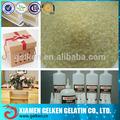 Alto conteúdo de proteína animal gelatina cola para encadernação& fazendo caso