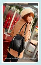 Dual purpose PU backpack cheap shoulder bag
