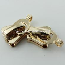 Fashion brass zipper metal sprinkler head zipper puller metal buddha head