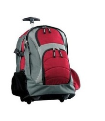 2014 Classic detachable adult wheeled rolling backpacks luggages red/grey/navy/ black
