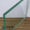 Top quality 5mm double glazed windows glass sheet cost