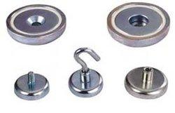 Customized Zn, Ni, NiCuNi, Gold Coating neodymium rotor magnet