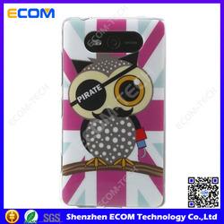 Rose Union Jack Flag Pirate Owl IMD TPU Case for Nokia Lumia 820