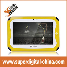 7inch kids tablet color for school students andoird shock proof kids tablet pc