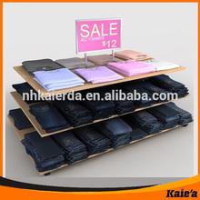 retail men's clothes display rack/ men clothing rack for sale