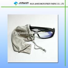 Logo print sunglasses pouch,fabric sunglass case,cheap sunglasses case