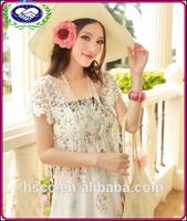 2014 new design BOHO style sandbeachone-piece dress