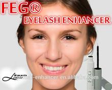 Synthetic fragrance free eyelash growth product FEG Eyelash Enhancer /Clinically proven effectiveness as seen on tv product 2014