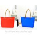 2014 coreano de la moda de la moda de silicona bolsa bolsa de playa