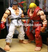 NECA Street Fighter action figure,custom neca action figures,custom anime action figures