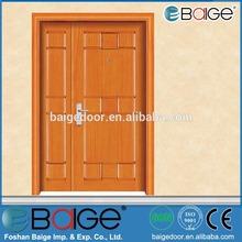 BG-W9061 luxury paint modern room veneer wood flush door design
