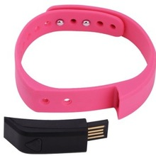 Fashion !!! Rechargeable USB Pedometer Tracking Movements,Sleep and Calories Data...