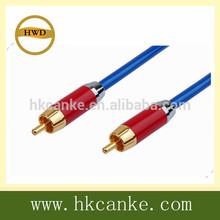 1.5m Premium RCA Digital Coax Coaxial RG59 Audio Video Cable Subwoofer Cord