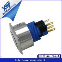 XMS Push button switch pin terminals(Dia.22mm,22J16-27S1,UL,CE,FCC,ROHS)