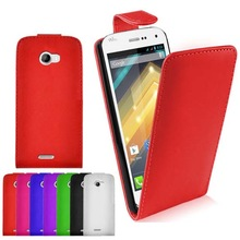 Flip PU leather cell phone Case for wiko Barry