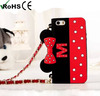New design soft Winnie phone cases for Iphone 4 5 silicone phone cover