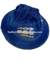 embroidered summer jean sun visor baby bucket hat