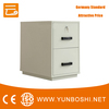 Fire Resistant Filing Cabinet 2drawers 2 hour fire rating