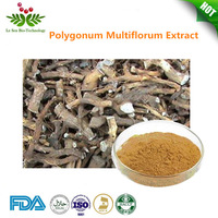 100% Pure Natural Polygonum Multiflorum Extract , Flavone , Emodin , Phosphatide