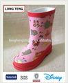 mode kleid design rosa gummistiefel gummistiefel für mädchen