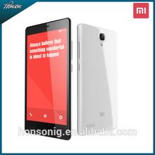 "Original Xiaomi Redmi Note Phone ROM8GB 5.0"" 3G Hongmi Android 4.2 SmartPhone MTK6592 Octa Core RAM2GB Dual SIM WCDMA Play Store"